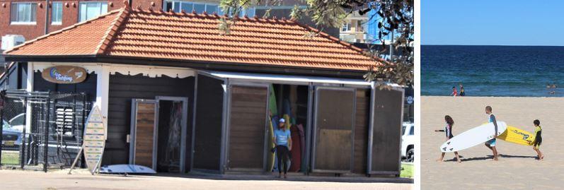 Lets Go Surfing Maroubra surfboard hire, Sydney