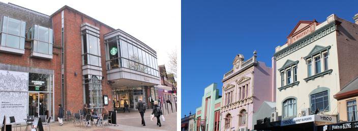 Australian architecture vs UK