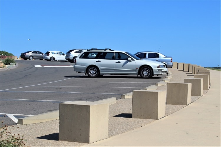 La Perouse Beach Parking
