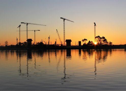 Beautiful short sunrise walk in East Perth, Western Australia.