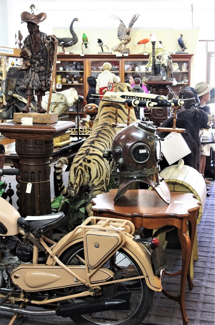 Explore the quirky antique stores in the Southern Highlands NSW.