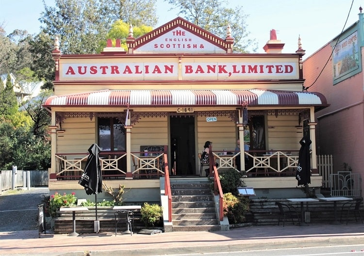 Cafe in Kangaroo Valley, Southern Highlands NSW.
