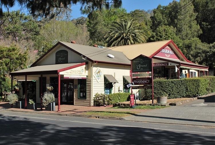 Heritage buildings in Kangaroo Valley, Southern Highlands.