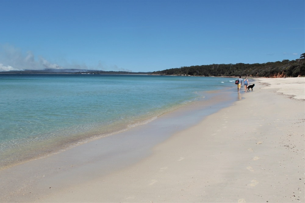 Beautiful Jervis Bay, one of the top weekend trips from Sydney for beach lovers.