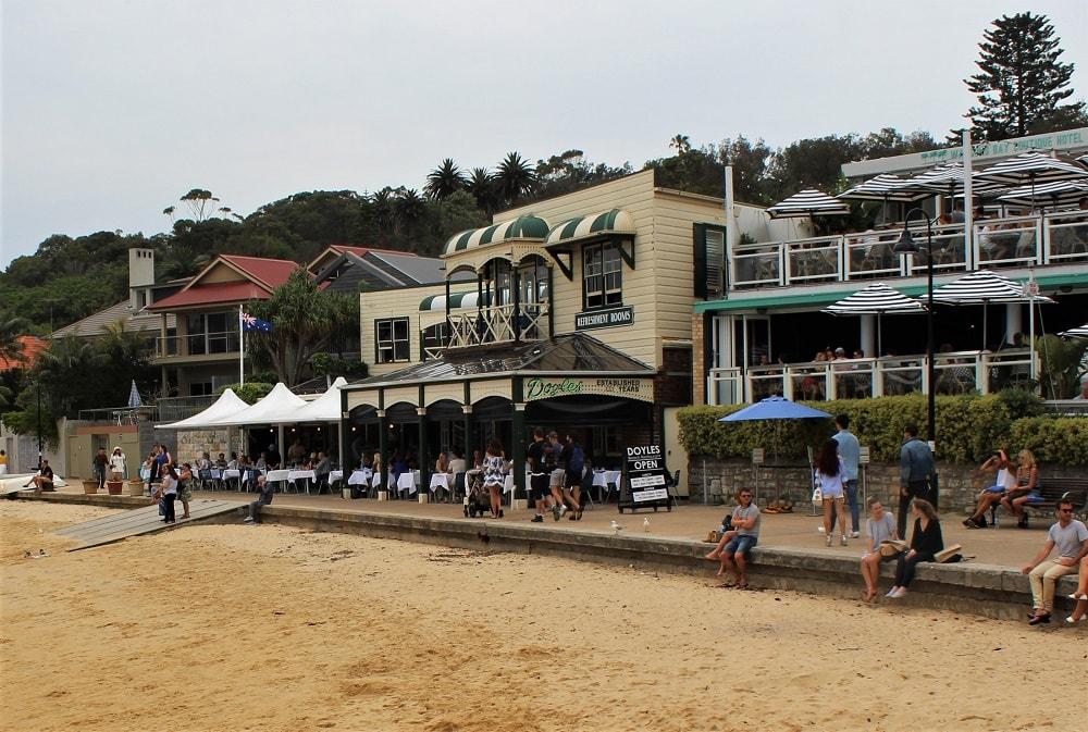 Watsons Bay Beach Club Restaurant