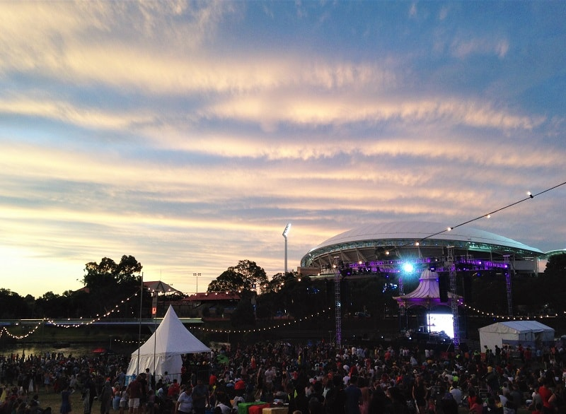 Wondering where to spend New Years Eve in Australia? Here's why Elder Park Adelaide beats New Years Eve Sydney's fireworks hands down. Plan your Christmas & New Year in Australia now!