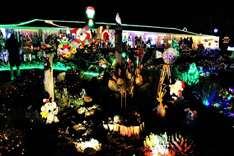 Enjoy the Christmas spirit of South Australia at the famous Lobethal Lights in the Adelaide Hills, the biggest community Christmas light display in the southern hemisphere.