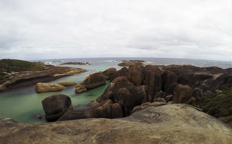 Visit the beautiful Greens Pool and Elephant Rocks in Denmark WA. Find out where to camp on a budget and where to get free Wi-Fi in this beautiful town on Western Australia's Rainbow Coast.