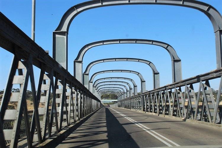 The bridge in Murray Bridge South Australia.