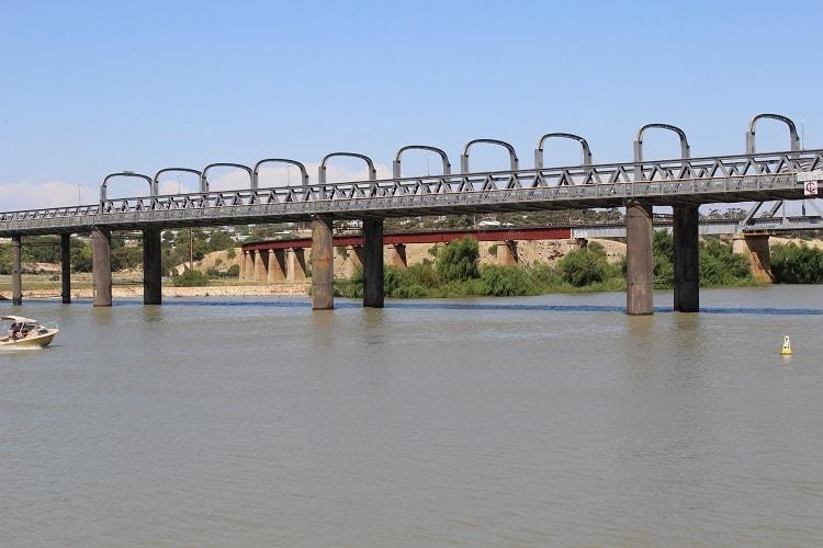 Murray River paddle boat cruise in Murray Bridge, South Australia.