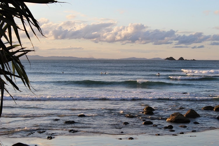 Byron Bay - a nearby holiday destination for those living in Brisbane.