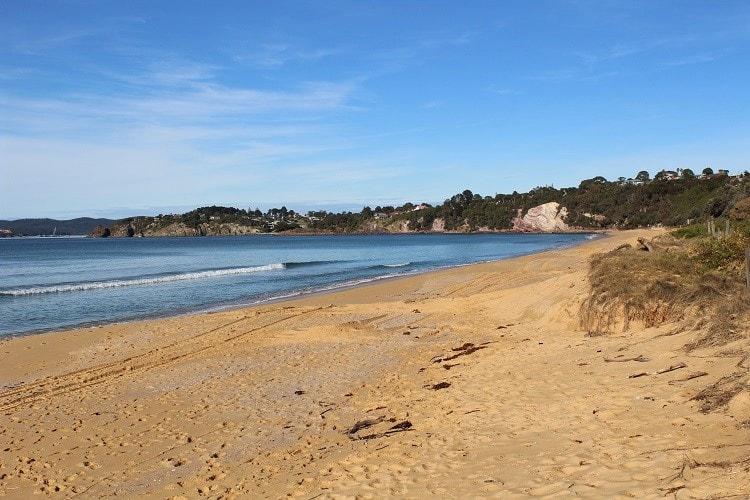 Beautiful Aslings Beach in Eden NSW, Australia.