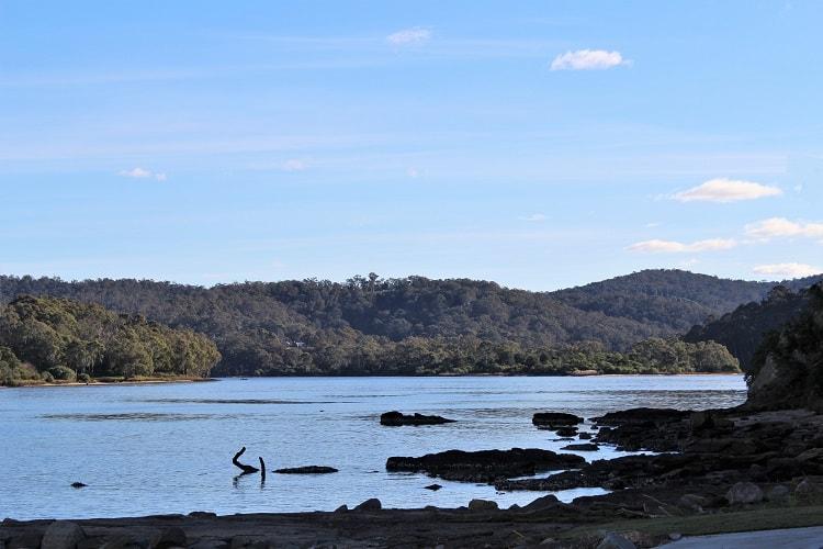 Scenic Bega River.