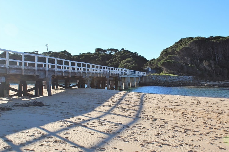 Cuttagee Bridge in New South Wales.