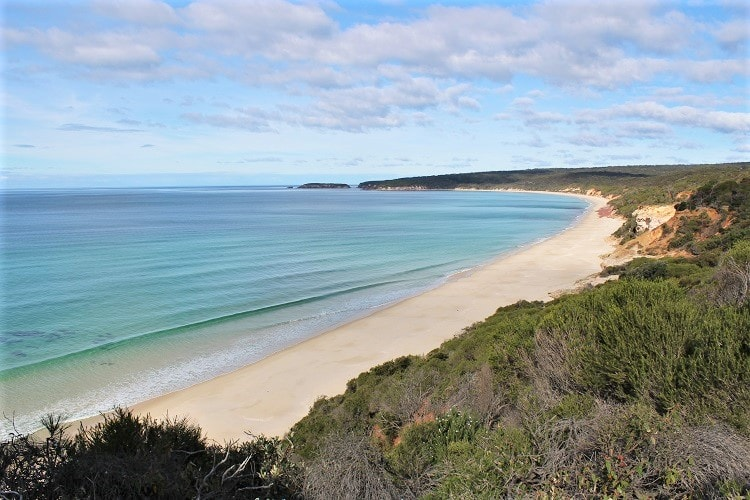 Pinnacles Beach, Ben Boyd National Park. One of many scenic attractions in Eden NSW.