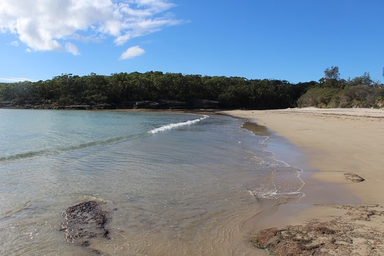 Abraham's Bosom Beach in Currarong NSW.