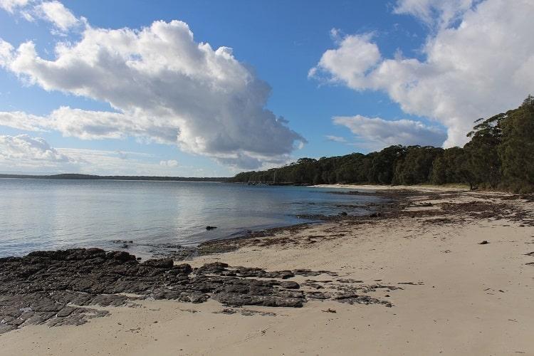 Beautiful Bindijine Beach on the Beecroft Peninsula Australia.