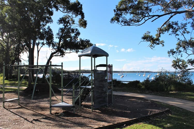 Park in Callala Bay NSW.