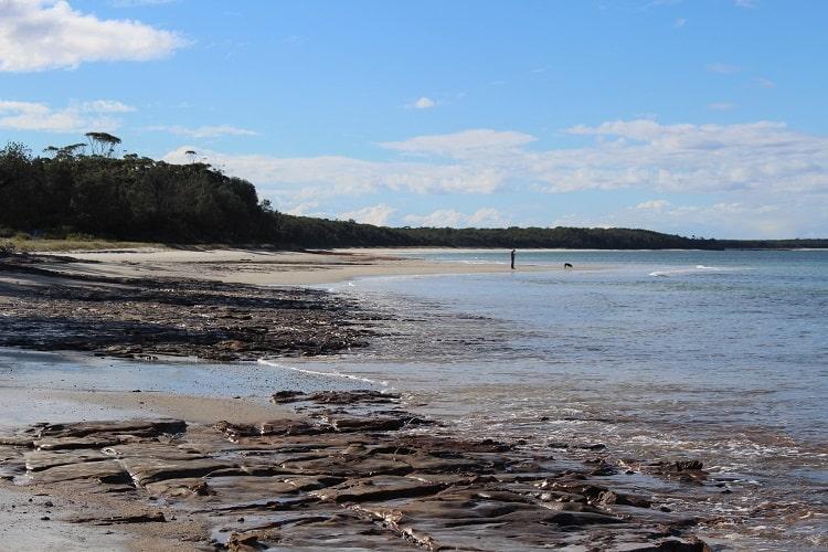Beach at beautiful Callala Bay NSW.
