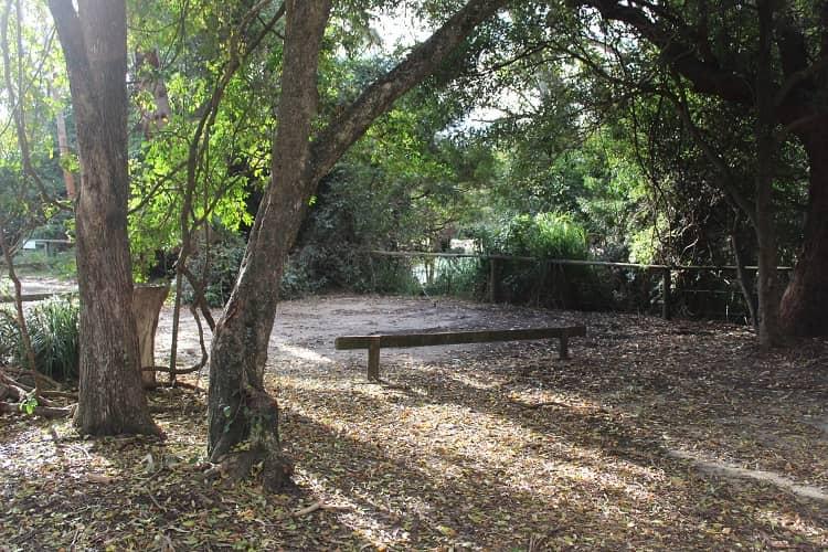 Honeymoon Bay camping ground on the Beecroft Peninsula, Jervis Bay NSW.