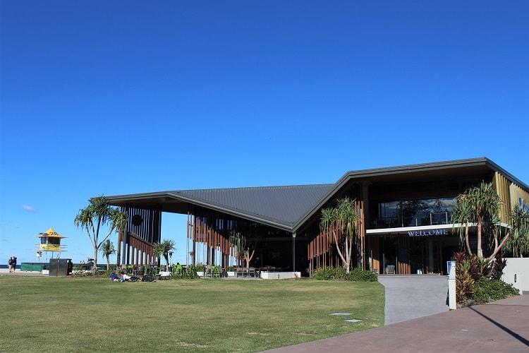 Kirrara Surf Club at the Gold Coast.