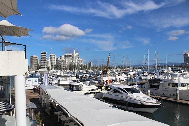 Marina Mirage, upmarket dining at the Gold Coast.