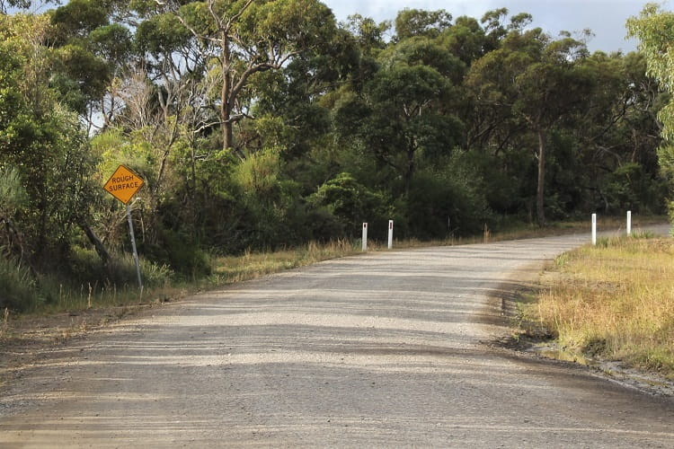 Point Perpendicular access road.