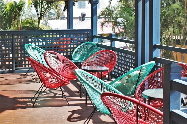 Quiet and cheap hostel at the Gold Coast: YHA Surfers Paradise.