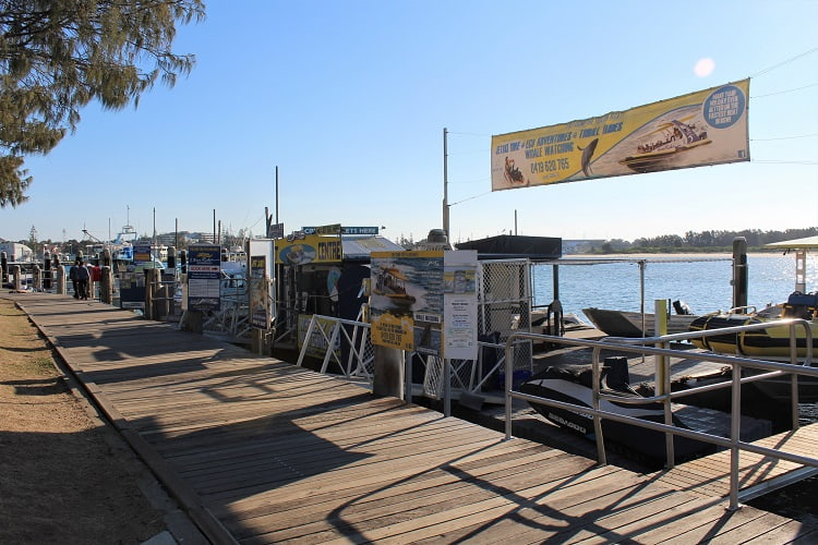 River cruises in Port Macquarie.