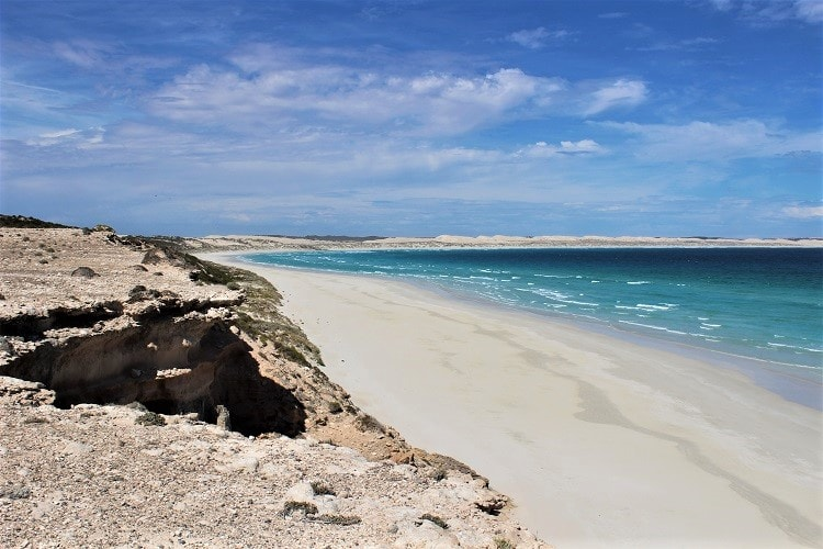 Gorgeous Gunyah Beach in Coffin Bay, South Australia.