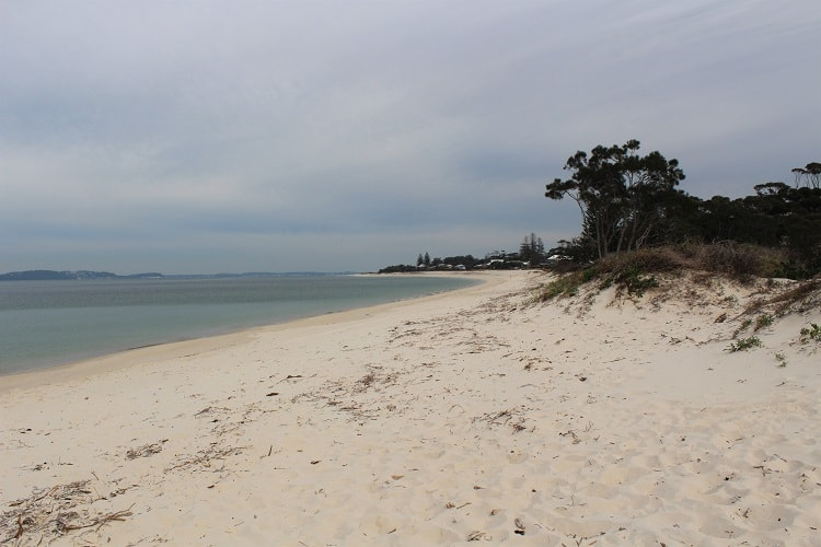 Hawks Nest Beach in Myall Lakes, NSW.