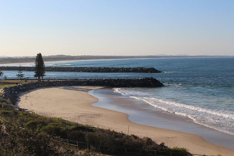 Things to do in Port Macquarie: beach walk.