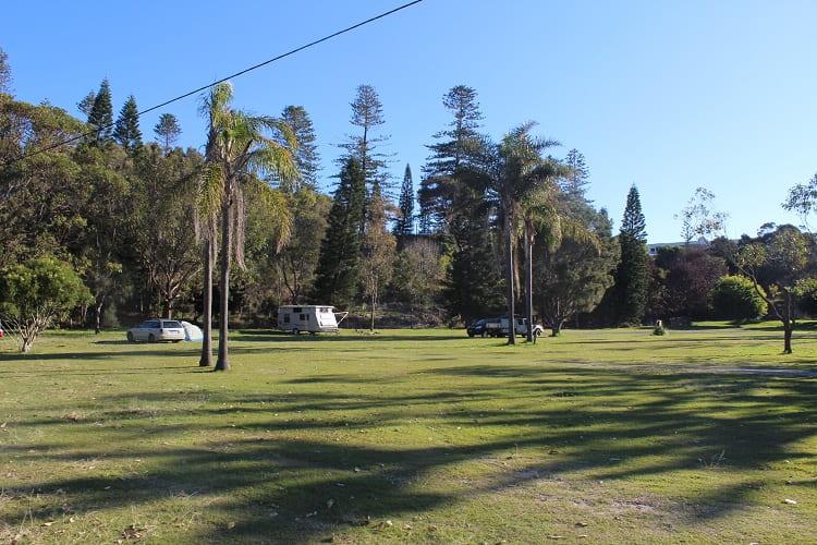 Port Macquarie caravan park and camping.
