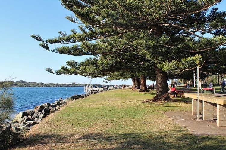 Town Green Park Port Macquarie Australia.