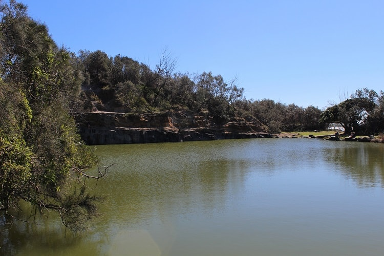 Angourie Blue Pool: a place to see in Yamba.