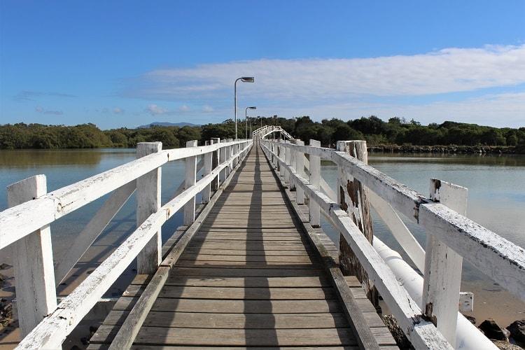 South West Rocks Creek Bridge.