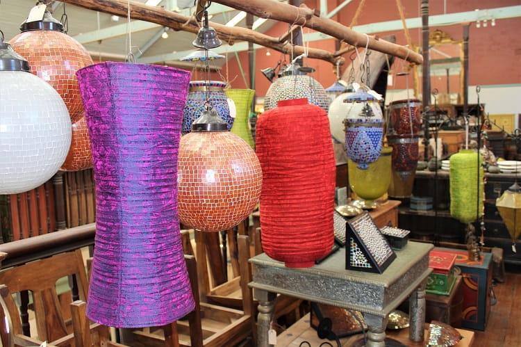 Arts and crafts in Bellingen Emporium.