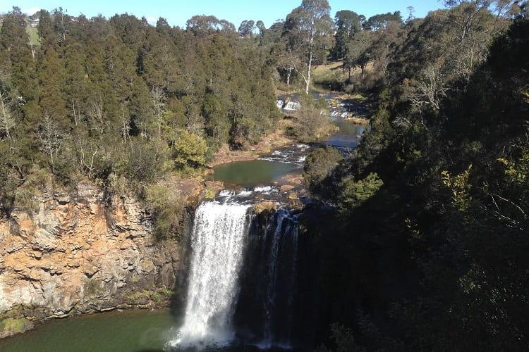 Beautiful Dangar Falls in Dorrigo NSW.