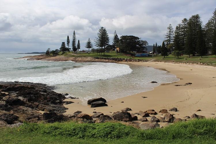 Horseshoe Bay Beach in Mid-North Coast NSW.