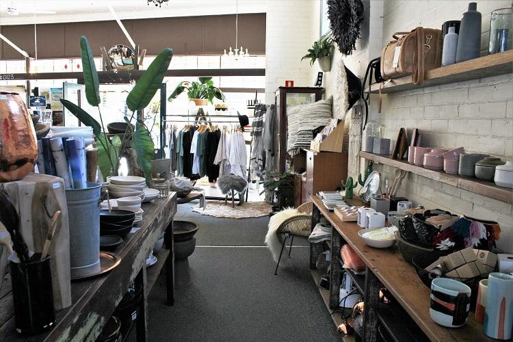 Shopping in Bellingen NSW.