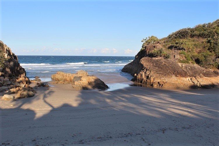 Little Bay Beach in South West Rocks.