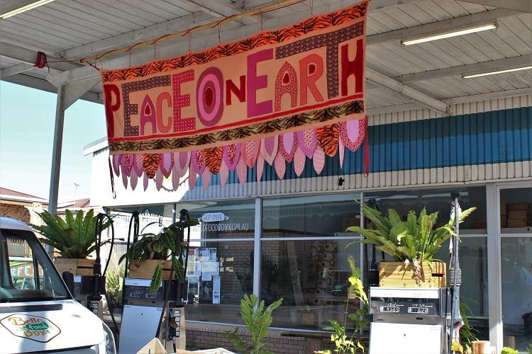 Petrol station Hyde St NSW, Australia.