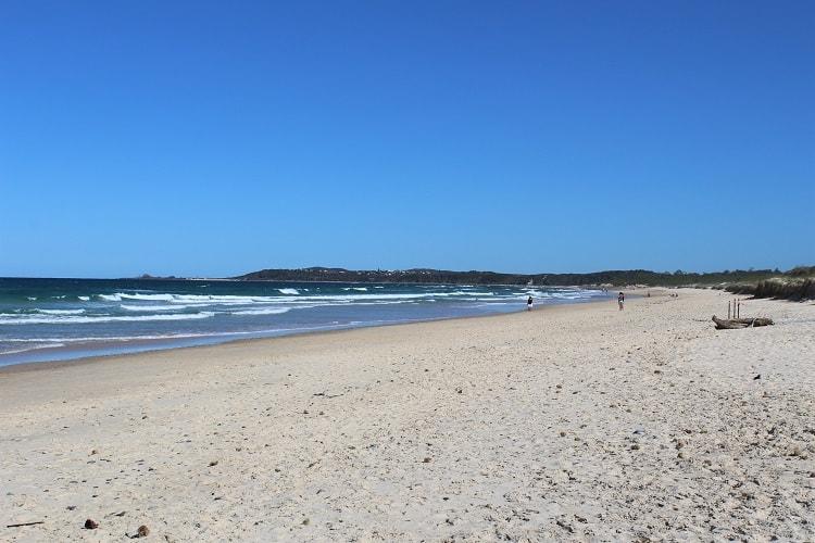 Things to Do in Yamba: beautiful Pippi Beach.