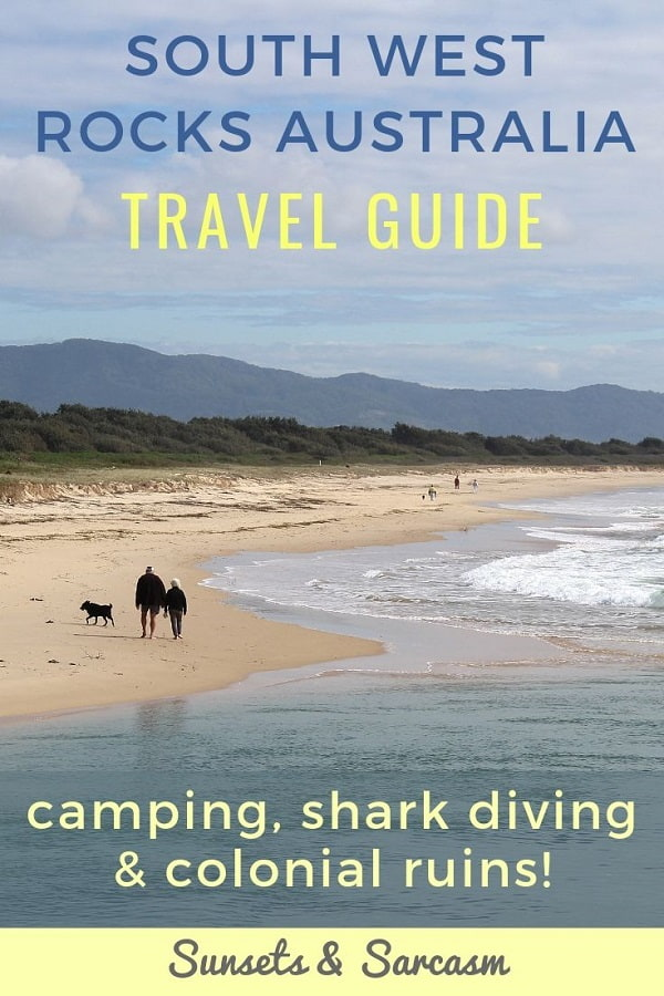 Top things to do in South West Rocks NSW. Dive with sharks at Fish Rock Cave, explore ruins at Trial Bay Gaol, go whale spotting or camp by the beach!