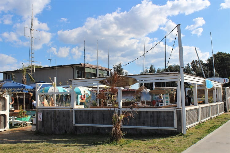 Cook at Kurnell: beautiful outdoor cafe in Sydney next to Silver Beach.