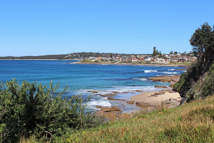 Beautiful Sydney homes on the Cronulla peninsula.
