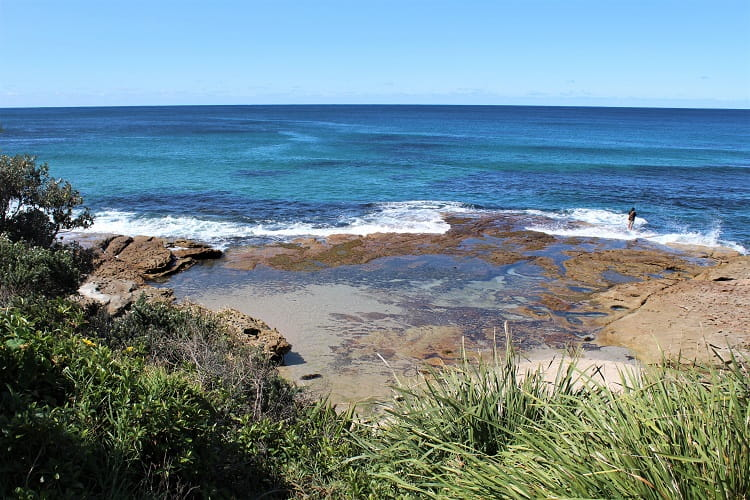 Gorgeous natural ocean pools in Cronulla.