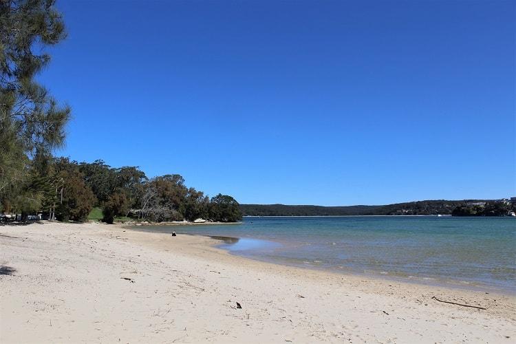 Darook Beach in Sydney's Sutherland Shire.