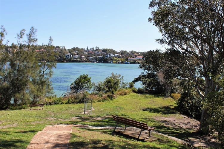 Beautiful Darook Park looking out from Cronulla to Burraneer.
