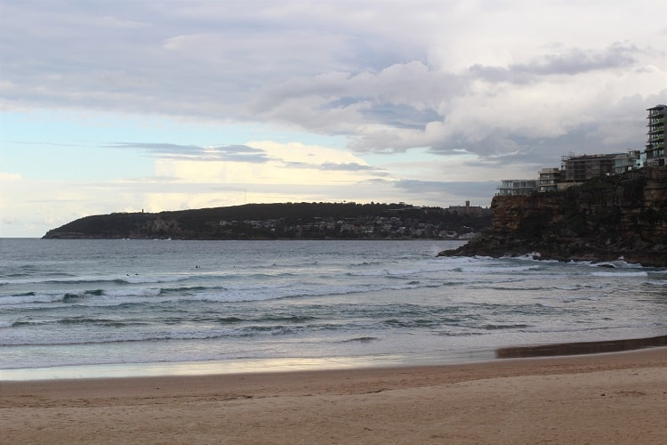 Beautiful Freshwater Beach, at one of the best suburbs in Sydney.